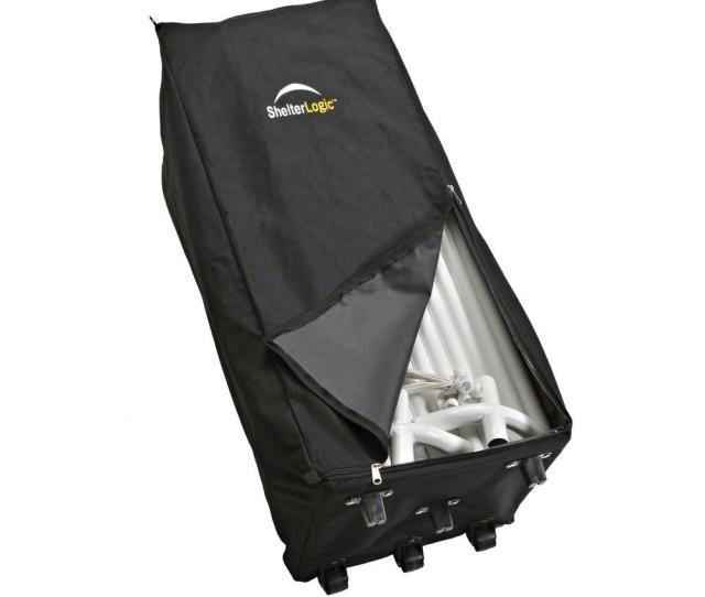 Shelterlogic Store It Canopy Rolling Storage Black Bag