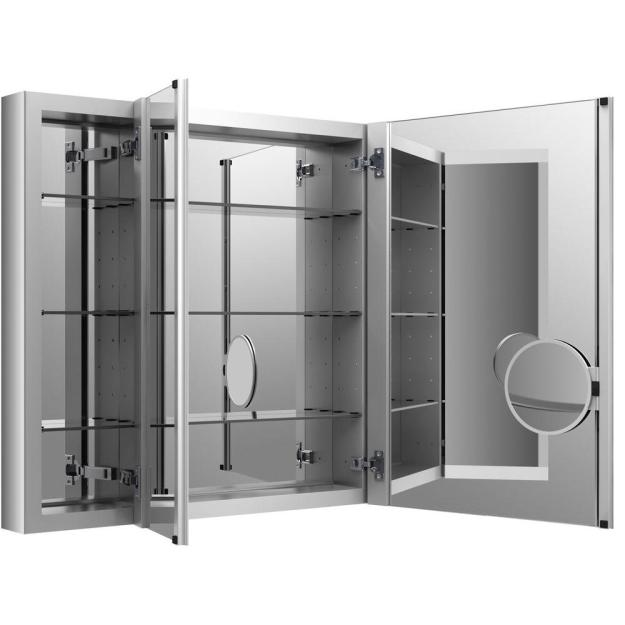 kohler verdera 40 in. w x 30 in. h recessed medicine cabinet in