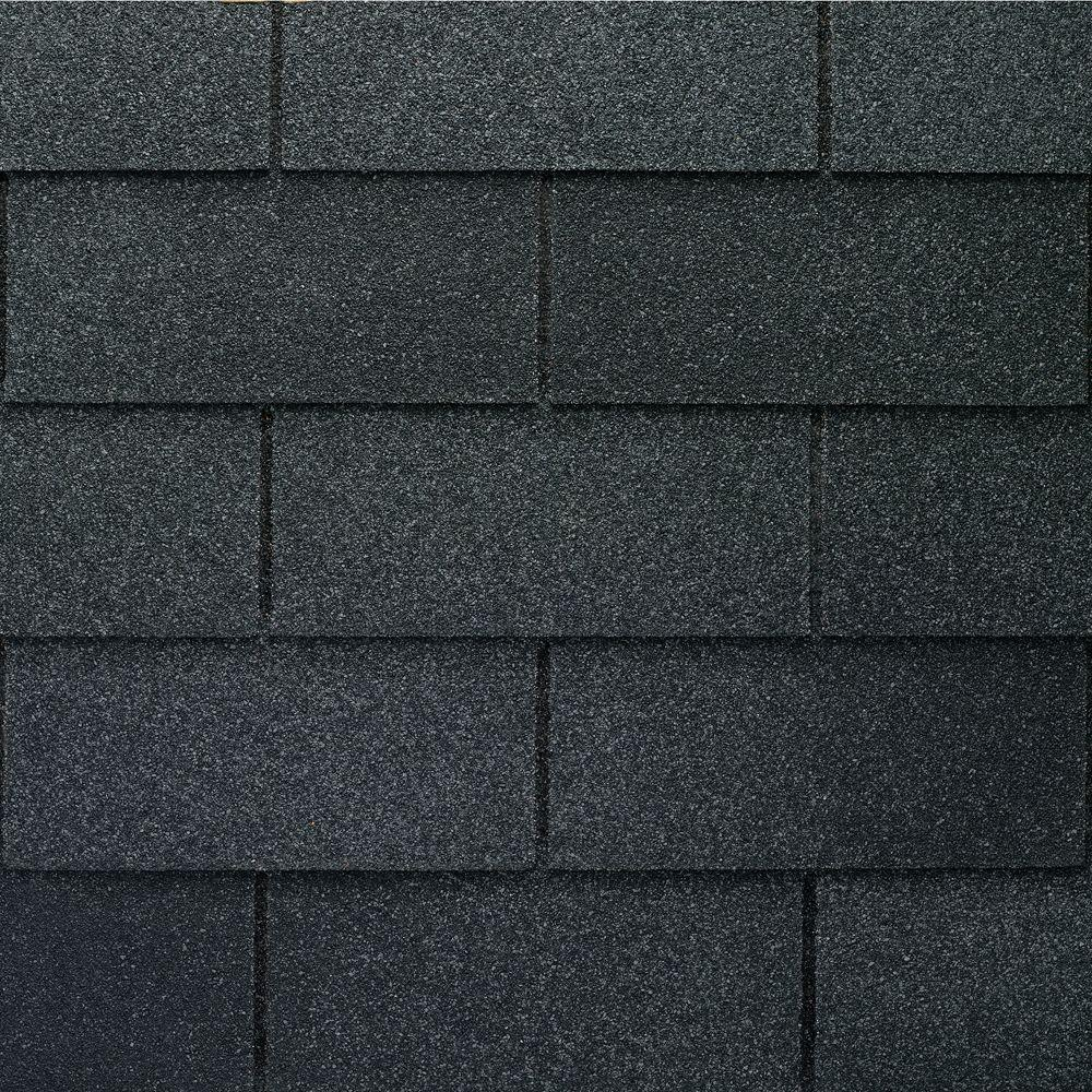 Gaf Royal Sovereign Charcoal Algae Resistant 3 Tab Roofing Shingles 33 33 Sq Ft Per Bundle 26 Pieces 0201180 The Home Depot