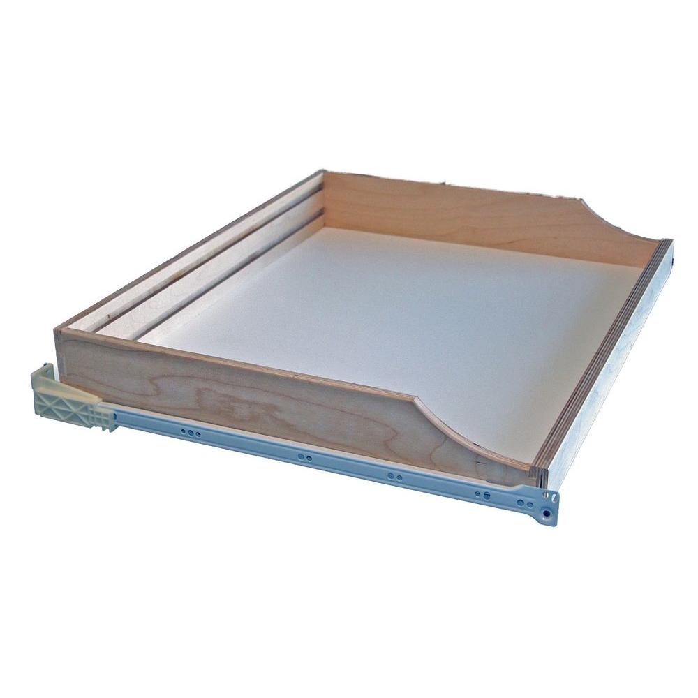 Rolling Shelves 22 In Deep Do It Yourself Pullout Shelf