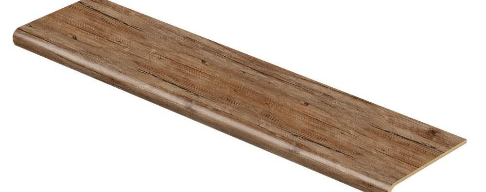 Cap A Tread Walton Oak 47 In Length X 12 1 8 In Deep X 1 11 16   Cost Of Oak Stair Treads   Wood Flooring   Stair Case   Hardwood Flooring   Hardwood Lumber   Laminate Flooring