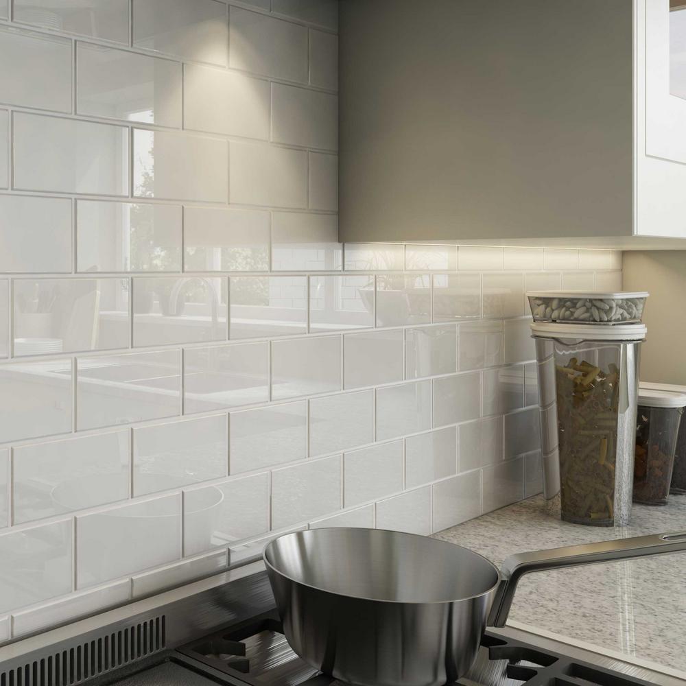 kitchen backsplash subway tile edge