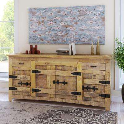 Yosemite Home Decor   Rustic   Sideboard   Furniture   The Home Depot     Yosemite Home Decor Clear All  Compare  Natural Wood finish Buffet