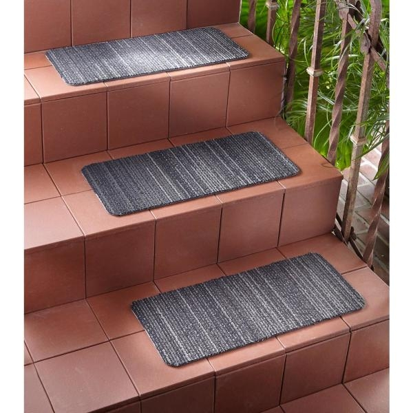 Nance Carpet And Rug Peel And Stick Charcoal Indoor Outdoor 8 In | Stair Tread Carpet Tiles | Treads Lowes | Slip Resistant | Non Slip | Tread Covers | Walmart