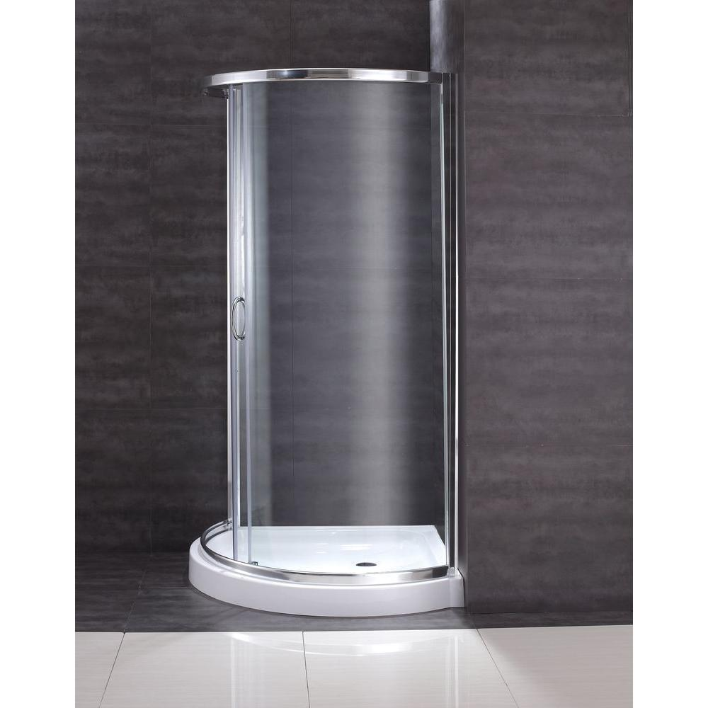 OVE Decors Breeze 36 In X 36 In X 76 In Shower Kit With