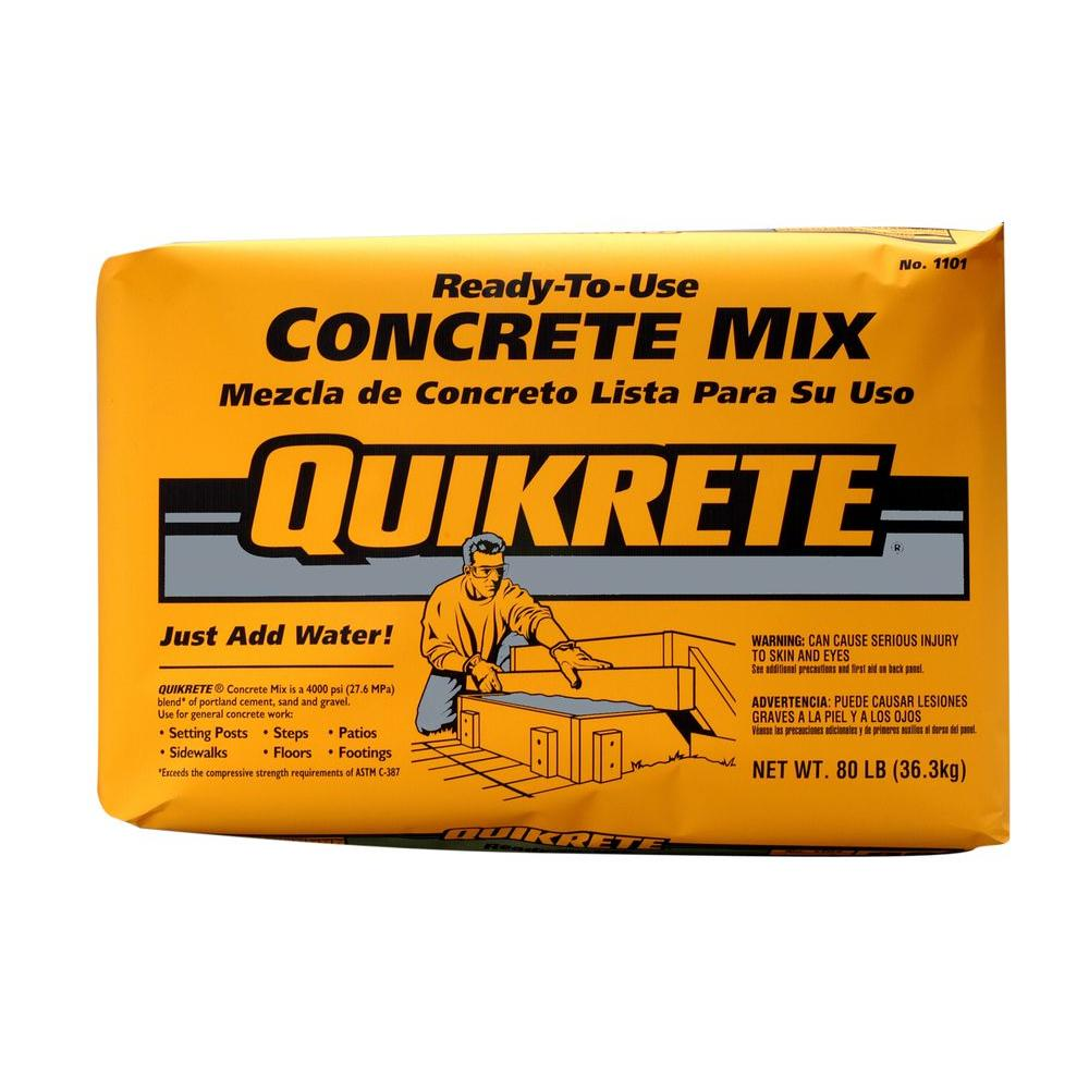 Quikrete Lbs Concrete Mix