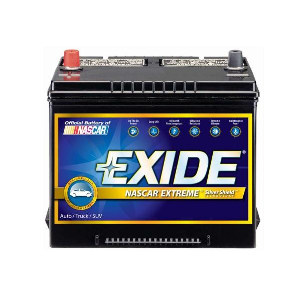 Exide Extreme 24F Auto Battery 24FX   The Home Depot Exide Extreme 24F Auto Battery
