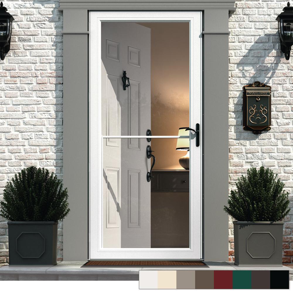 Retractable Screen Exterior Doors Doors Windows The Home Depot