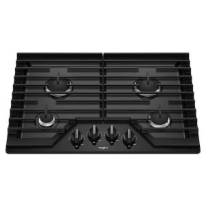 30 Inch 5 Burner Gas Cooktop With Ez 2 Lift Hinged Cast Iron Grates