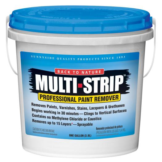 Multi Strip 1 Gal Multiple Layer Paint And Varnish Remover Ms01 The