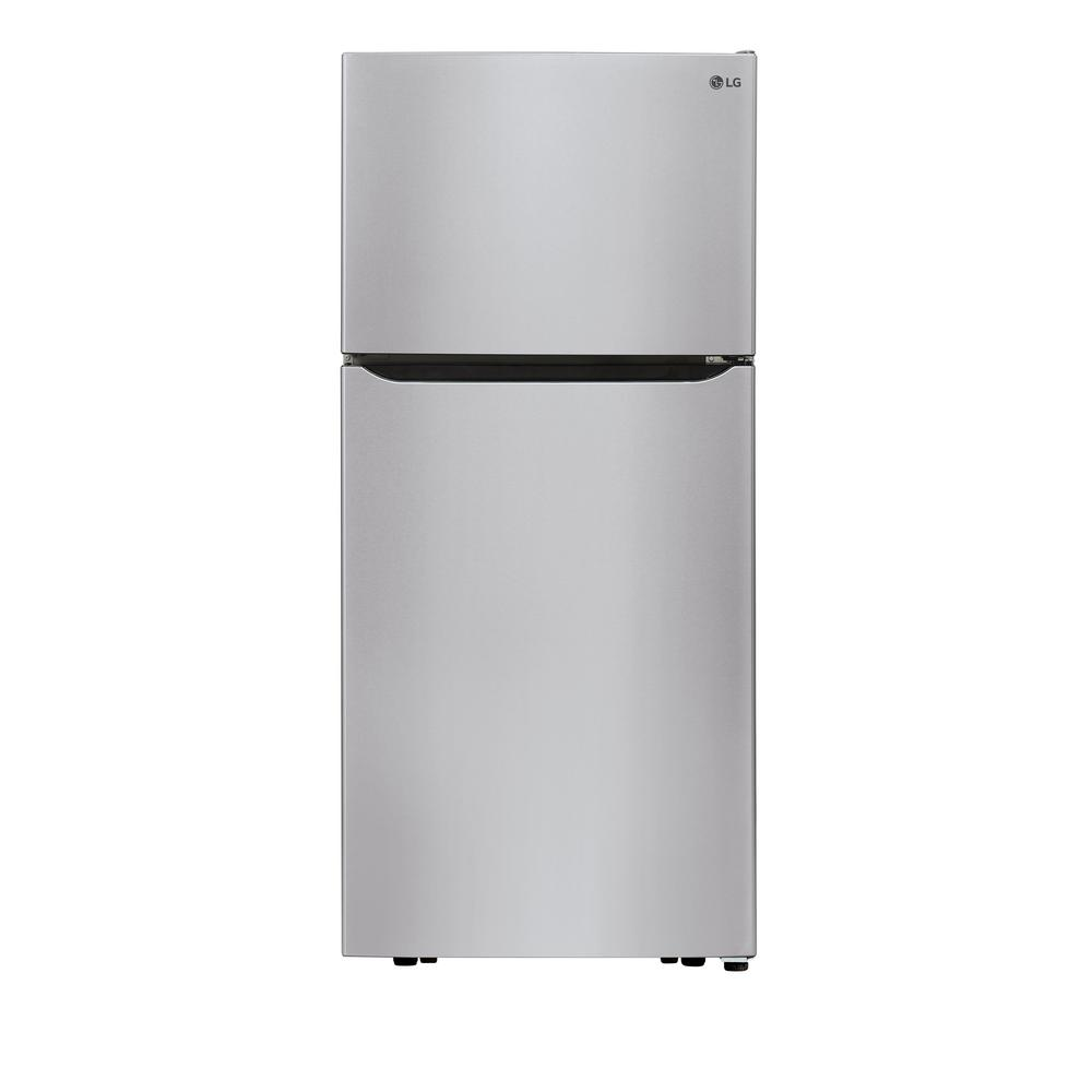 Lg Electronics 30 In W 20 2 Cu Ft Top Freezer Refrigerator In