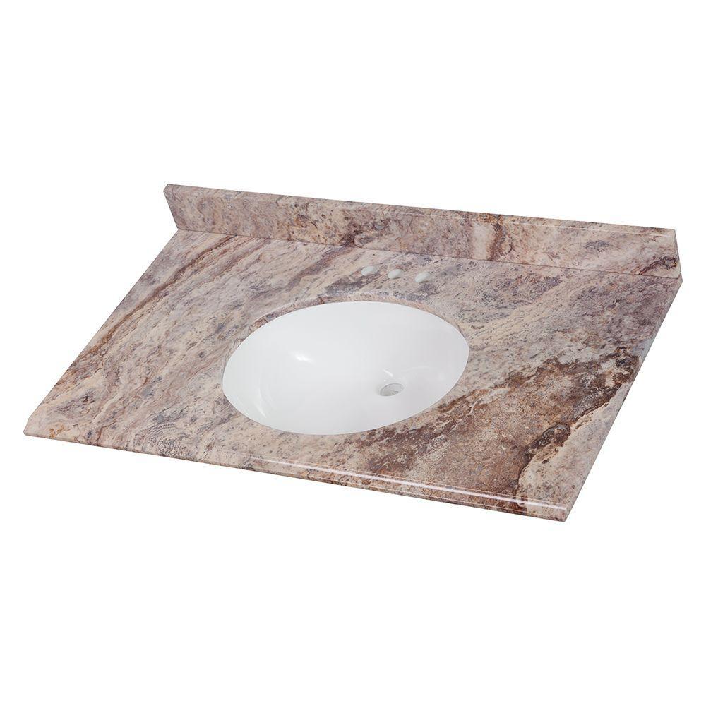 single sink - vanity tops - bathroom vanities - the home depot