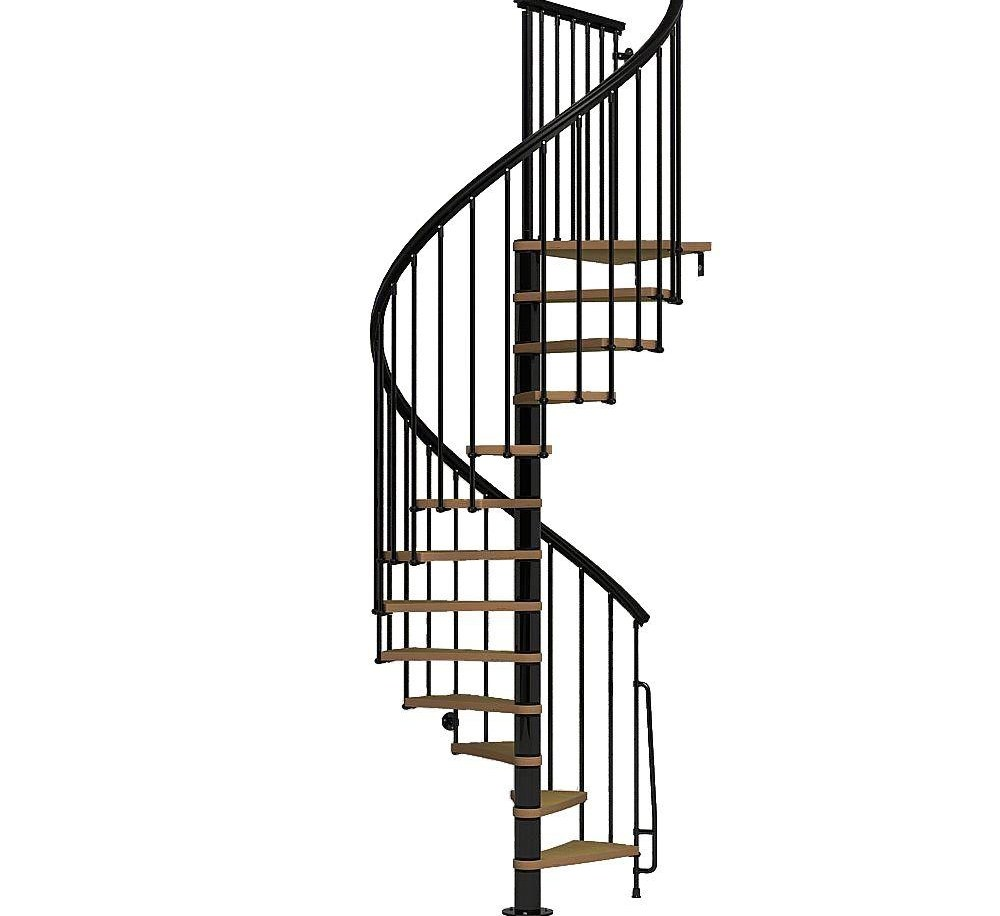 Spiral Staircase Kits Stair Parts The Home Depot   Outdoor Spiral Staircase Lowes   Kits Lowes   Curved Staircase   Lowes Com   Dolle Calgary   Handrail