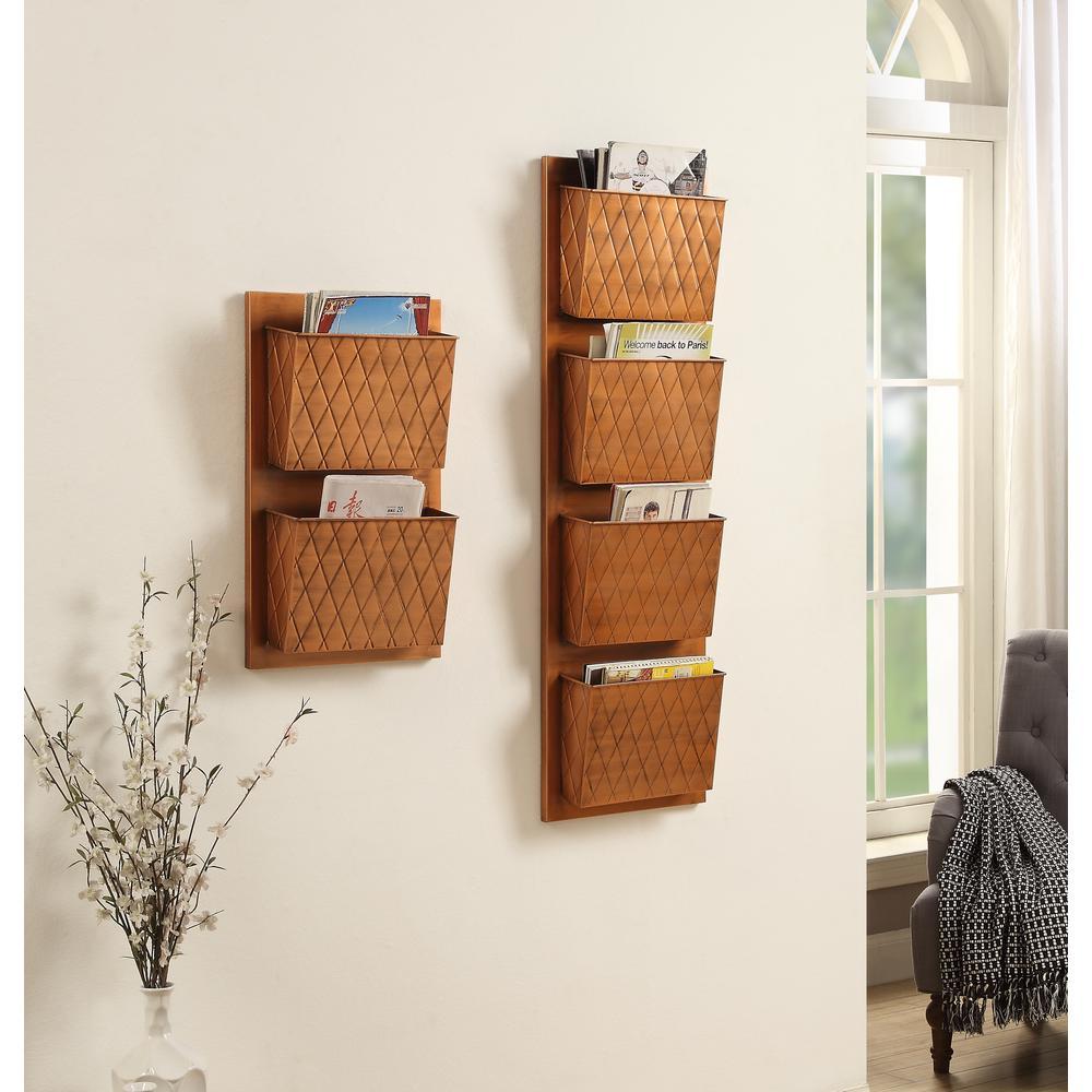 magazine racks wall mount magazine rack
