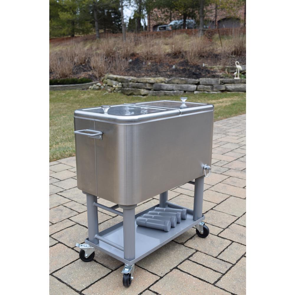 home depot patio cooler on wheels online