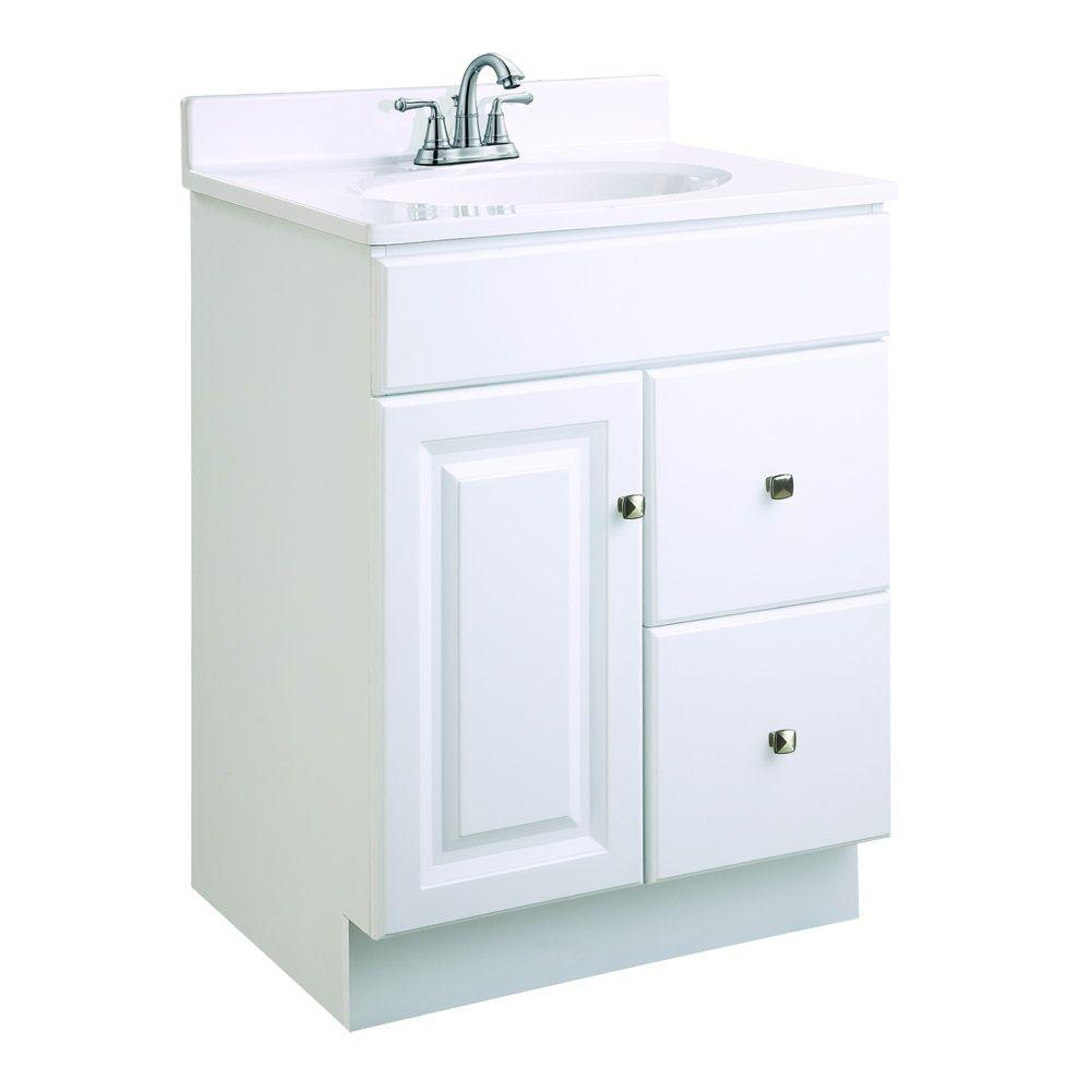 Best Kitchen Gallery: Design House Wyndham 24 In W X 18 In D Unassembled Vanity Cabi of Bathroom Cabinets Product on rachelxblog.com
