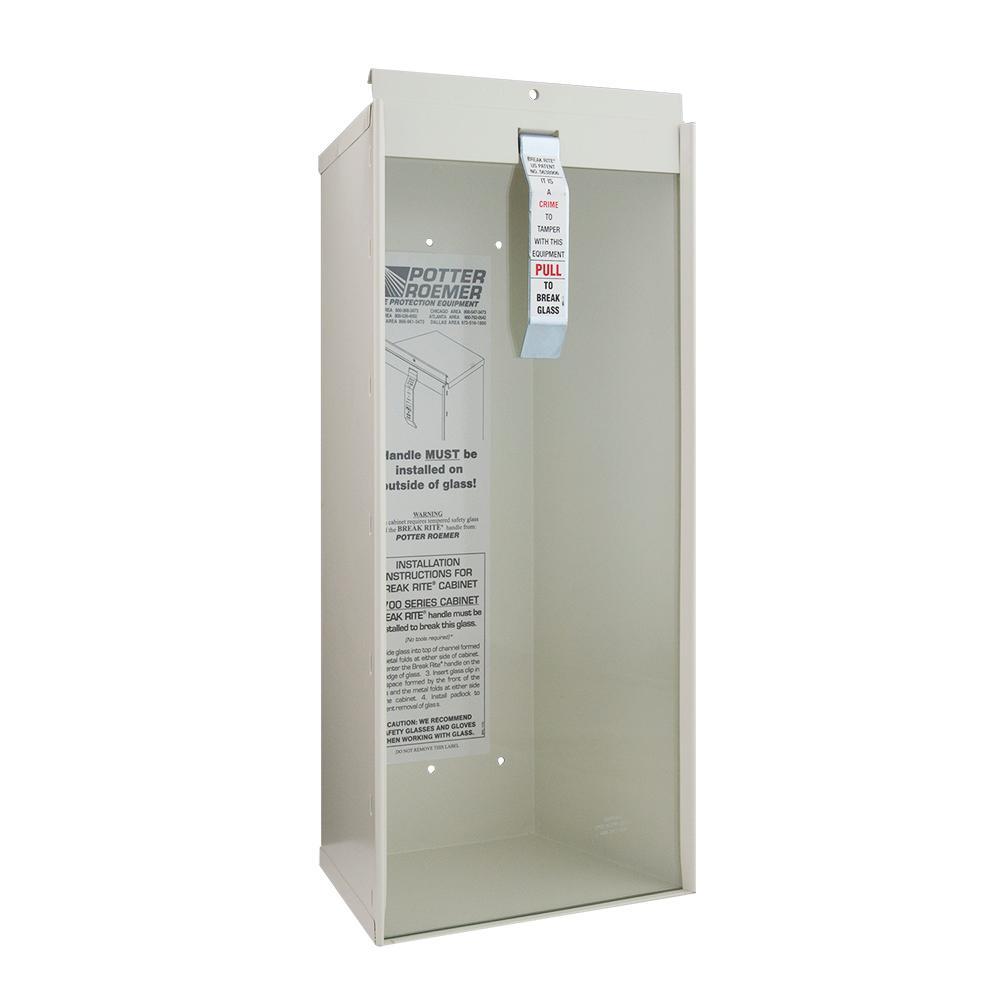 Kidde 6 Lb Surface Mount Fire Extinguisher Cabinet 468041