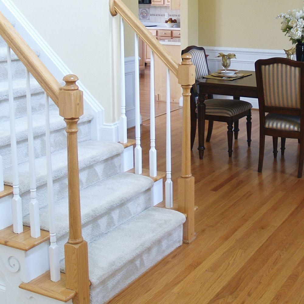 Stair Parts 5015 36 In X 1 1 4 In Primed Tapered Baluster 5015X | Wood Stairs Home Depot | Treads | Carpeted Stairs | Stair Railing | Oak Stair Nose | Laminate Flooring
