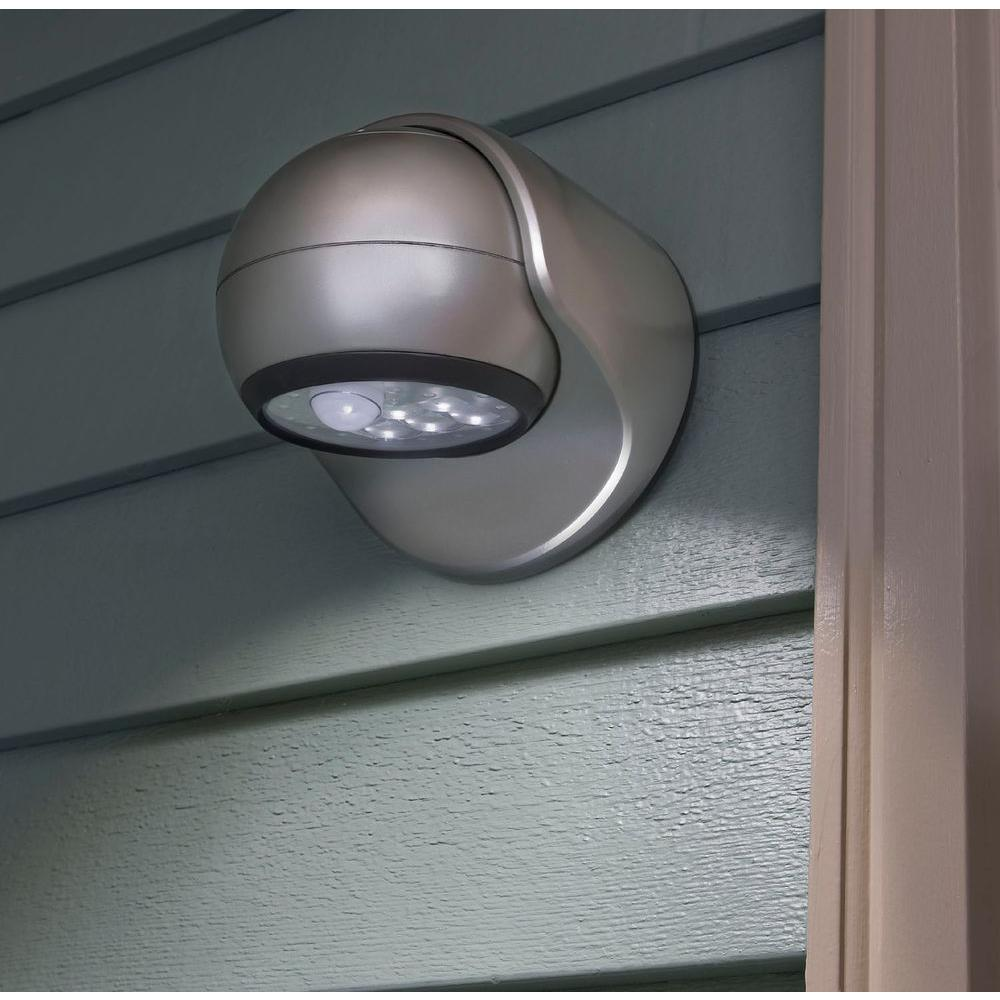 Light It White 6 Led Wireless Motion Activated Weatherproof Porch Light 20031 108 The Home Depot