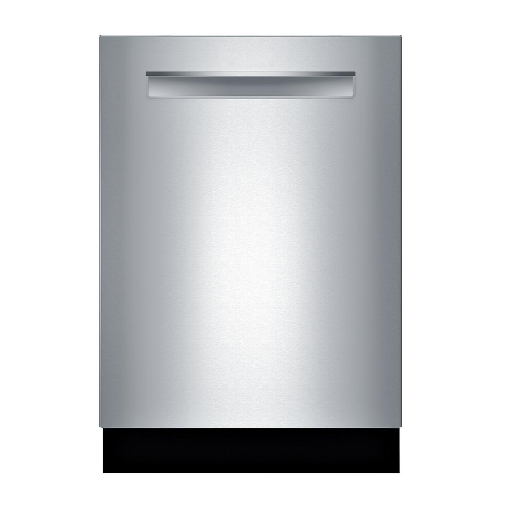 Bosch 800 Series Top Control Tall Tub Pocket Handle Dishwasher In