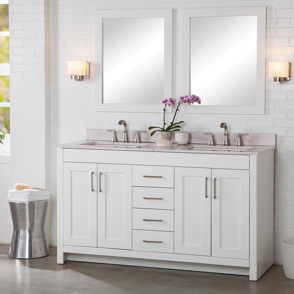 60 inch vanities double sink