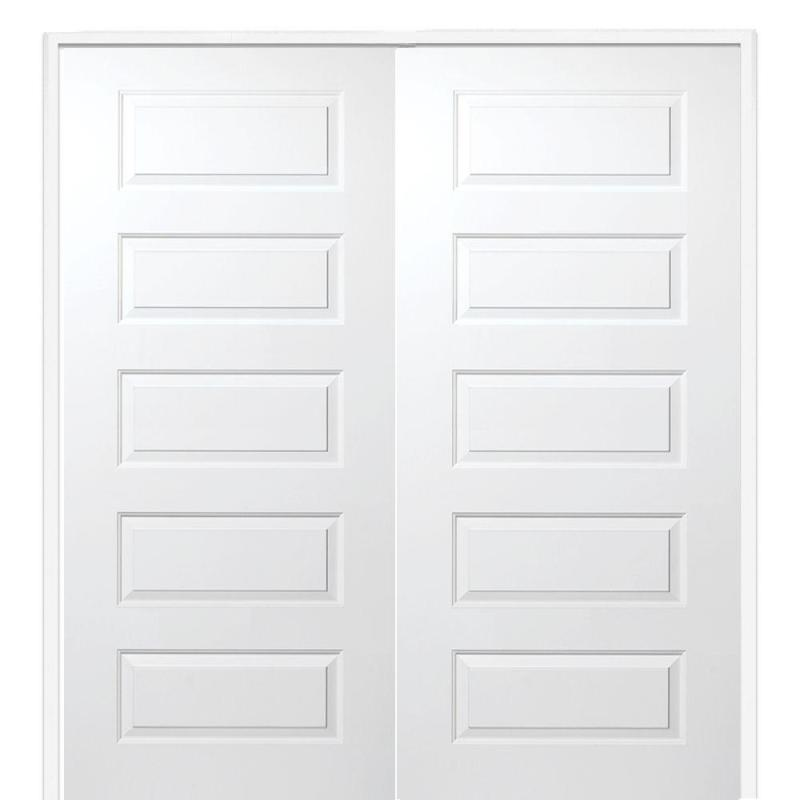 Mmi Door 60 In X 80 Smooth Rockport Both Active Solid Core Primed
