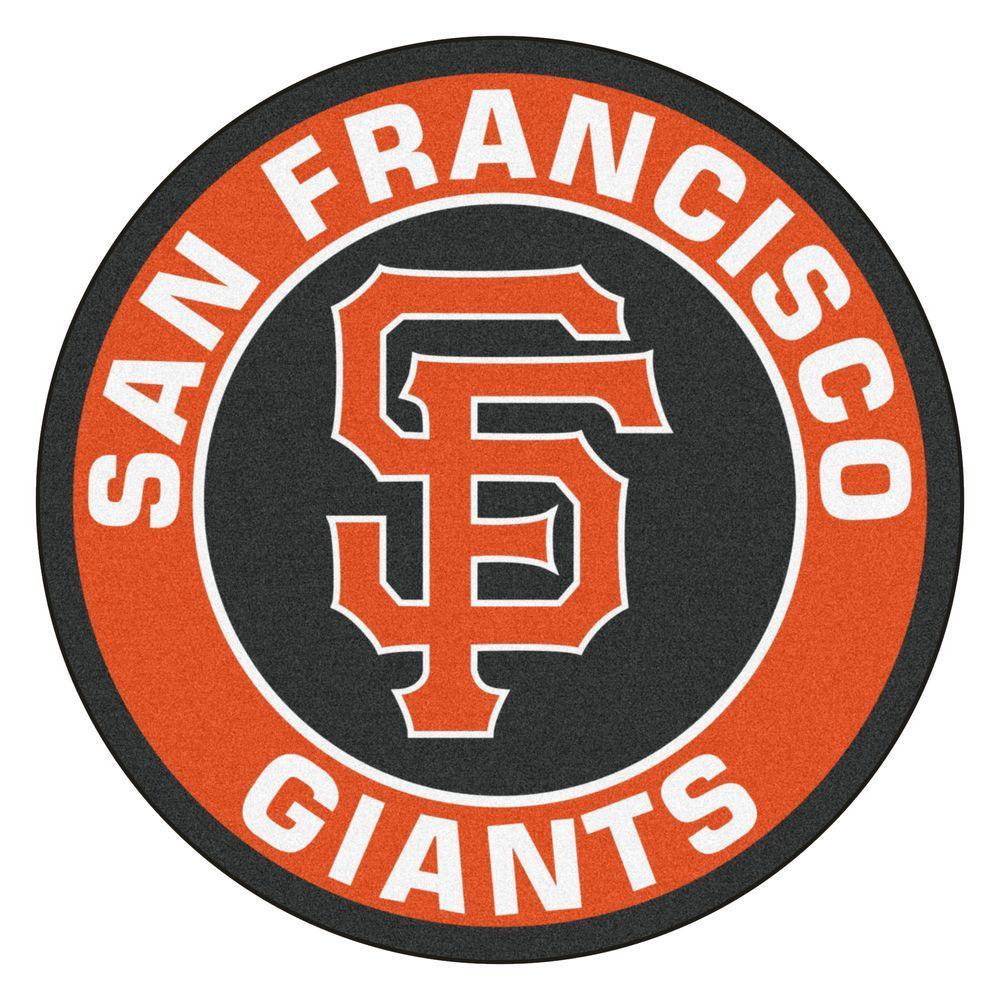 FANMATS MLB San Francisco Giants Orange 2 Ft 3 In X 2 Ft