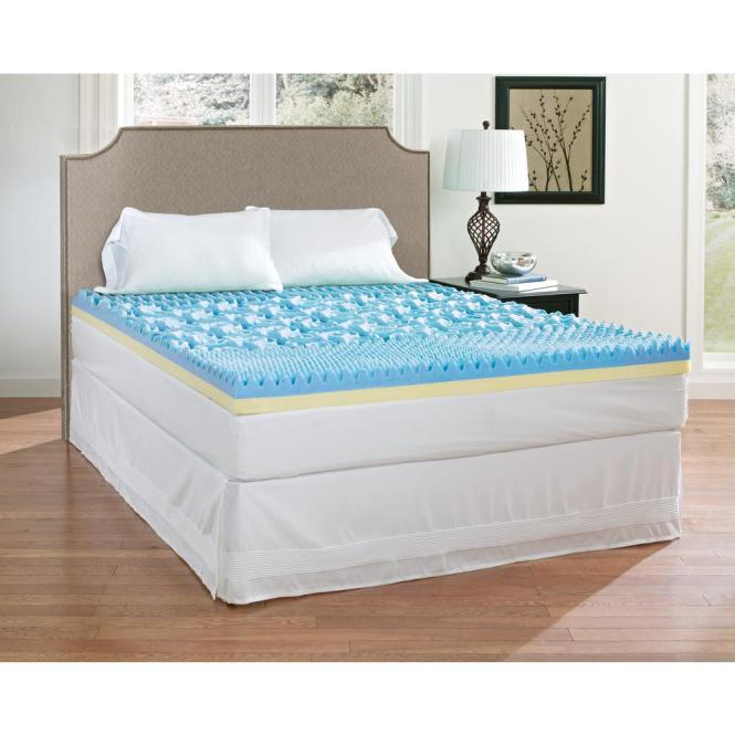 Full Gel Memory Foam Mattress Topper