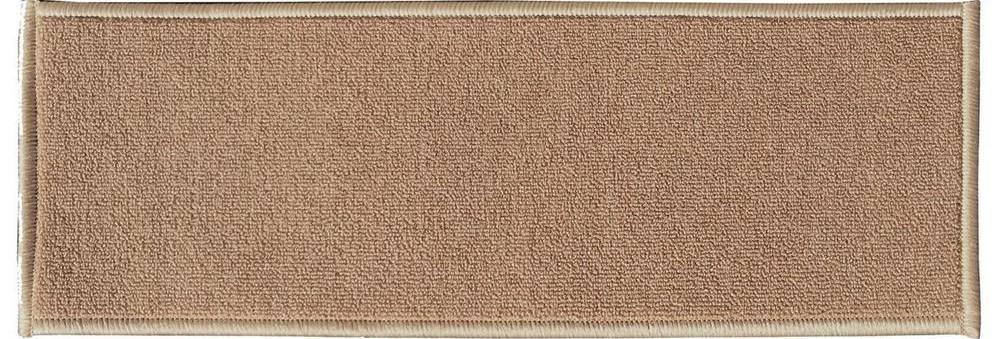 Ottomanson Dark Beige 8 5 In X 26 6 In Non Slip Rubber Back | Carpet Stair Treads Home Depot | Pattern | Lowes | Metal Stair | Wood Stair | Garden