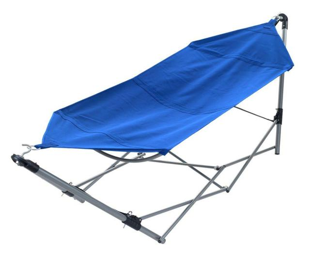 Portable Hammock With 9 Ft Frame Stand And Carrying Bag