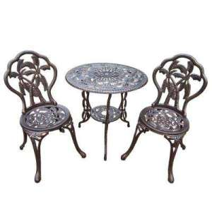 Cast Iron   Patio Dining Furniture   Patio Furniture   The Home Depot Palm