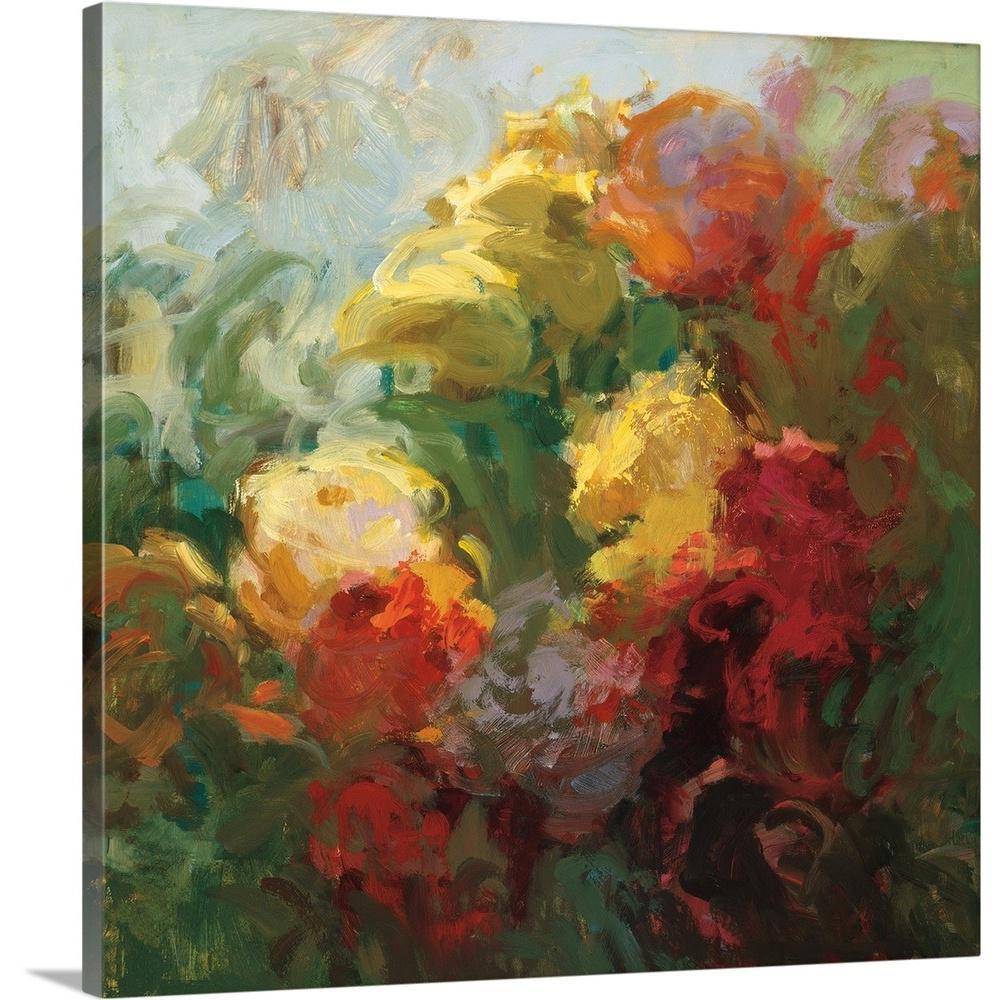 GreatBigCanvas Trellis Beauty By Vicki McMurry Canvas