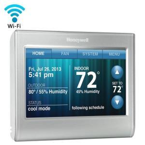 Honeywell WiFi Smart ThermostatRTH9580WF  The Home Depot