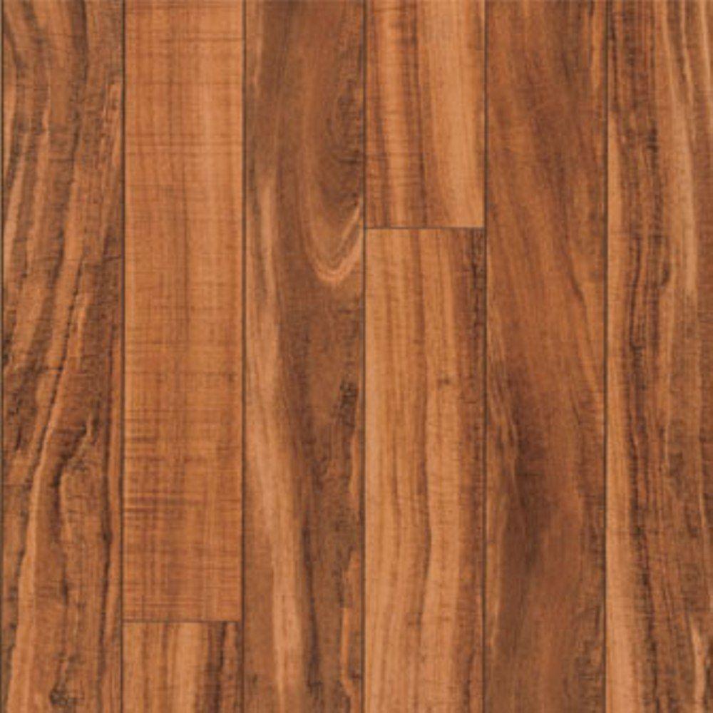 Pergo XP Hawaiian Curly Koa Laminate Flooring 5 In X 7 In Take Home Sample PE 882881 The