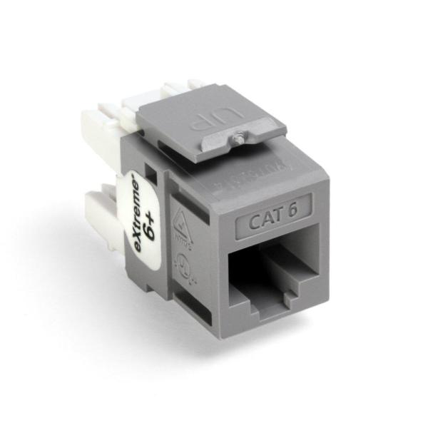 leviton quickport extreme cat 6 connector t568a/b wiring