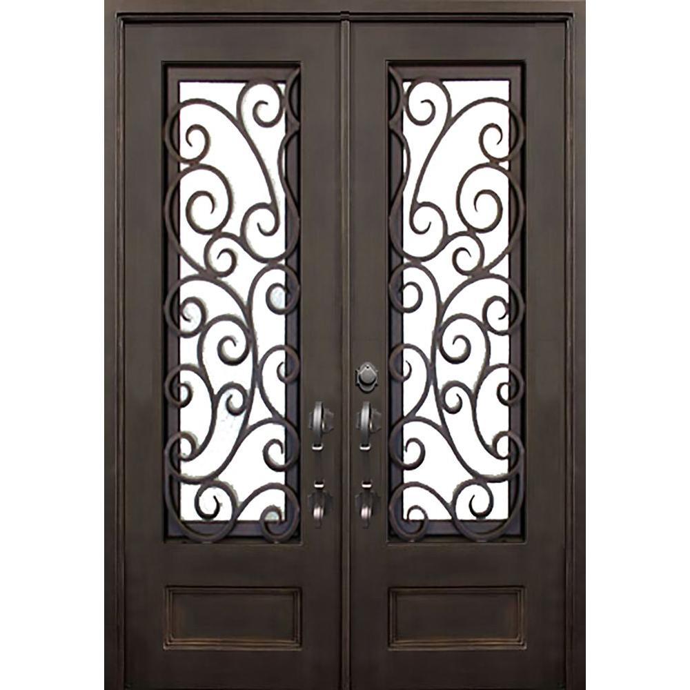 ALLURE IRON DOORS Amp WINDOWS 72 In X 96 In Lauderdale