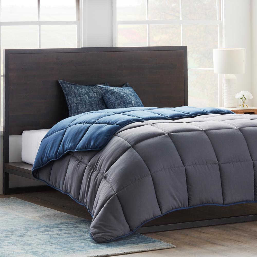 Navy Grey Bedding Bath Home Decor The Home Depot