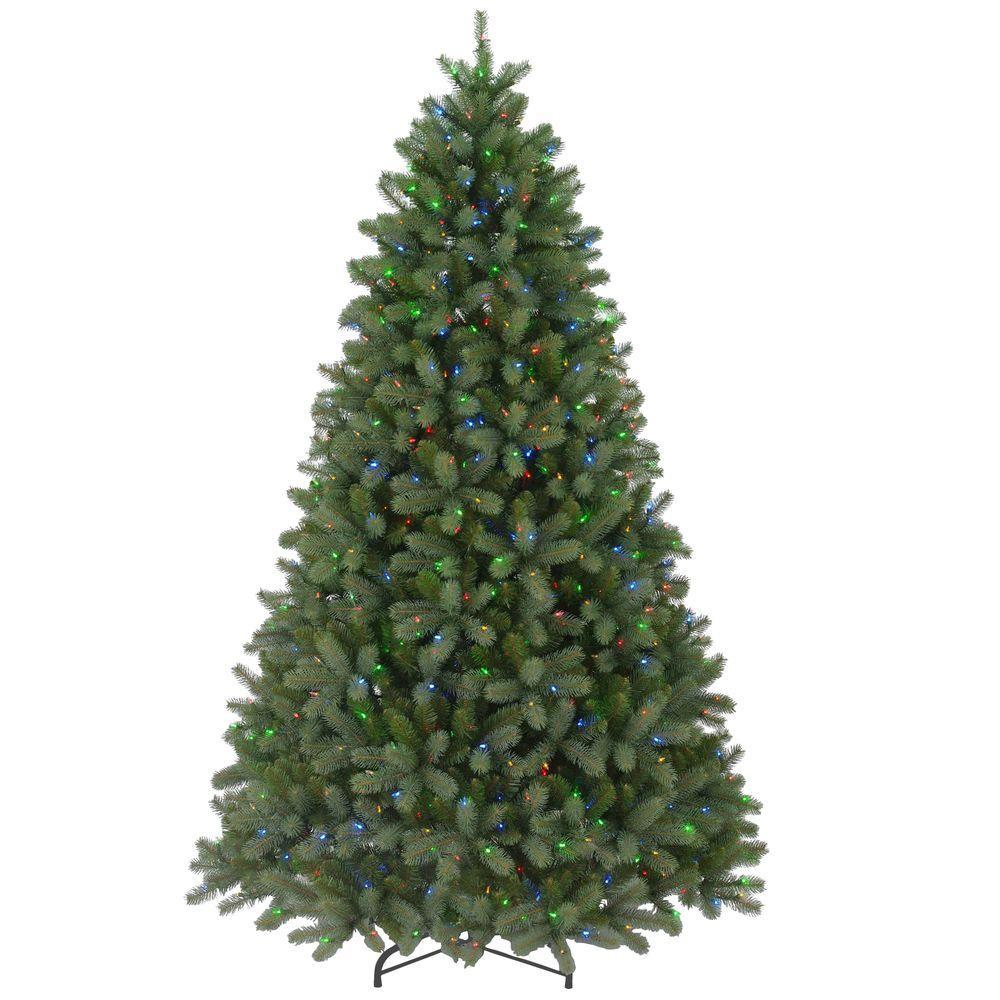 9 Ft FEEL REAL Downswept Douglas Fir Artificial Christmas