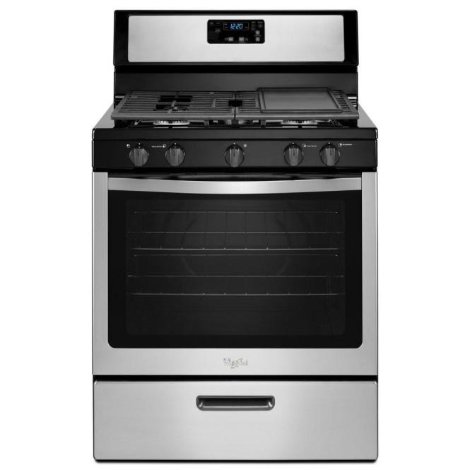 Stainless Steel Whirlpool Stove And Oven Range Microwave Appliances In Mission Tx Offerup