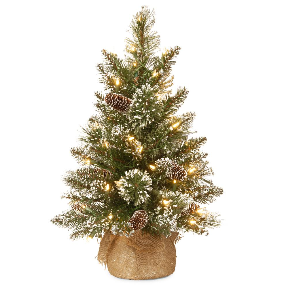 Home Accents Holiday 96 In LED Pre Lit Bare Branch Tree With Multicolor Lights 4407463BR02UHO1