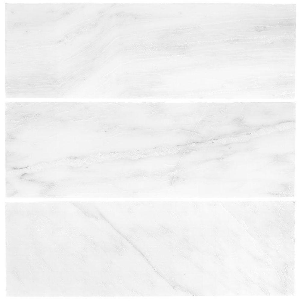 carrara honed marble wall tile oem