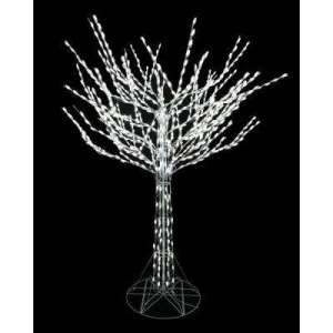Christmas Yard Decorations   Outdoor Christmas Decorations   The     8 ft  LED Pre Lit Bare Branch Tree with White Lights
