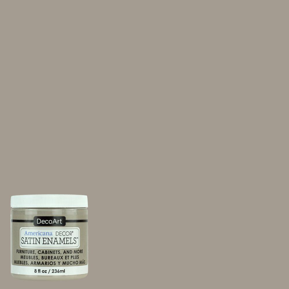 Grey Taupe Satin Enamel Paint