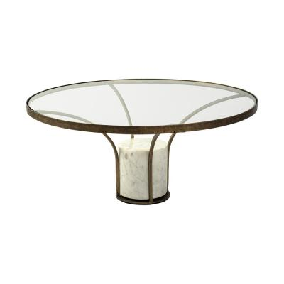 pedestal coffee tables accent