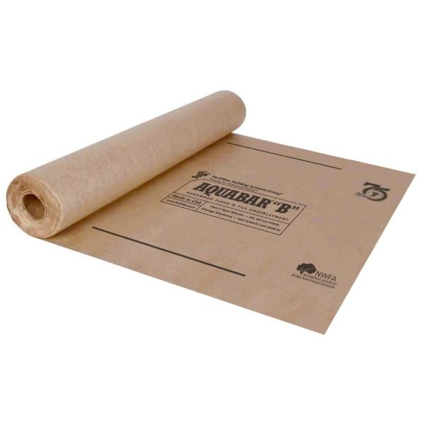 Fortifiber 500 sq  ft  Aquabar  B  Tile Underlayment Roll 70 195     Aquabar  B  Tile Underlayment Roll