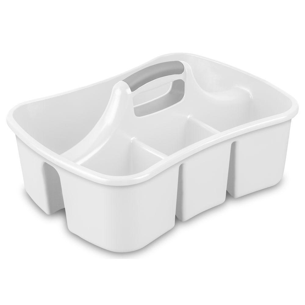 Sterilite Ultra White Caddy
