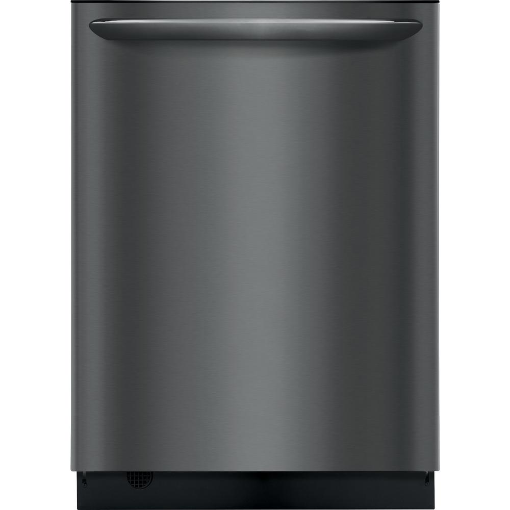 Frigidaire Top Control Built In Tall Tub Dishwasher In Smudge