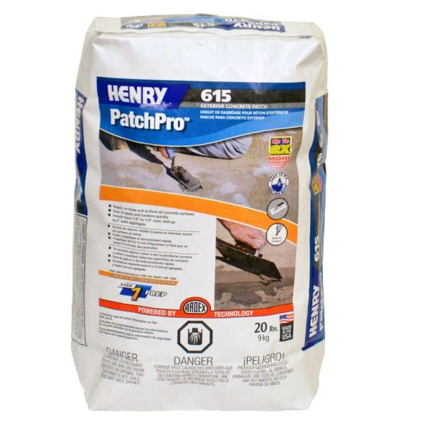 Henry 555 Level Pro 40 lb  Self Leveling Underlayment 12165   The     PatchPro Concrete Patch