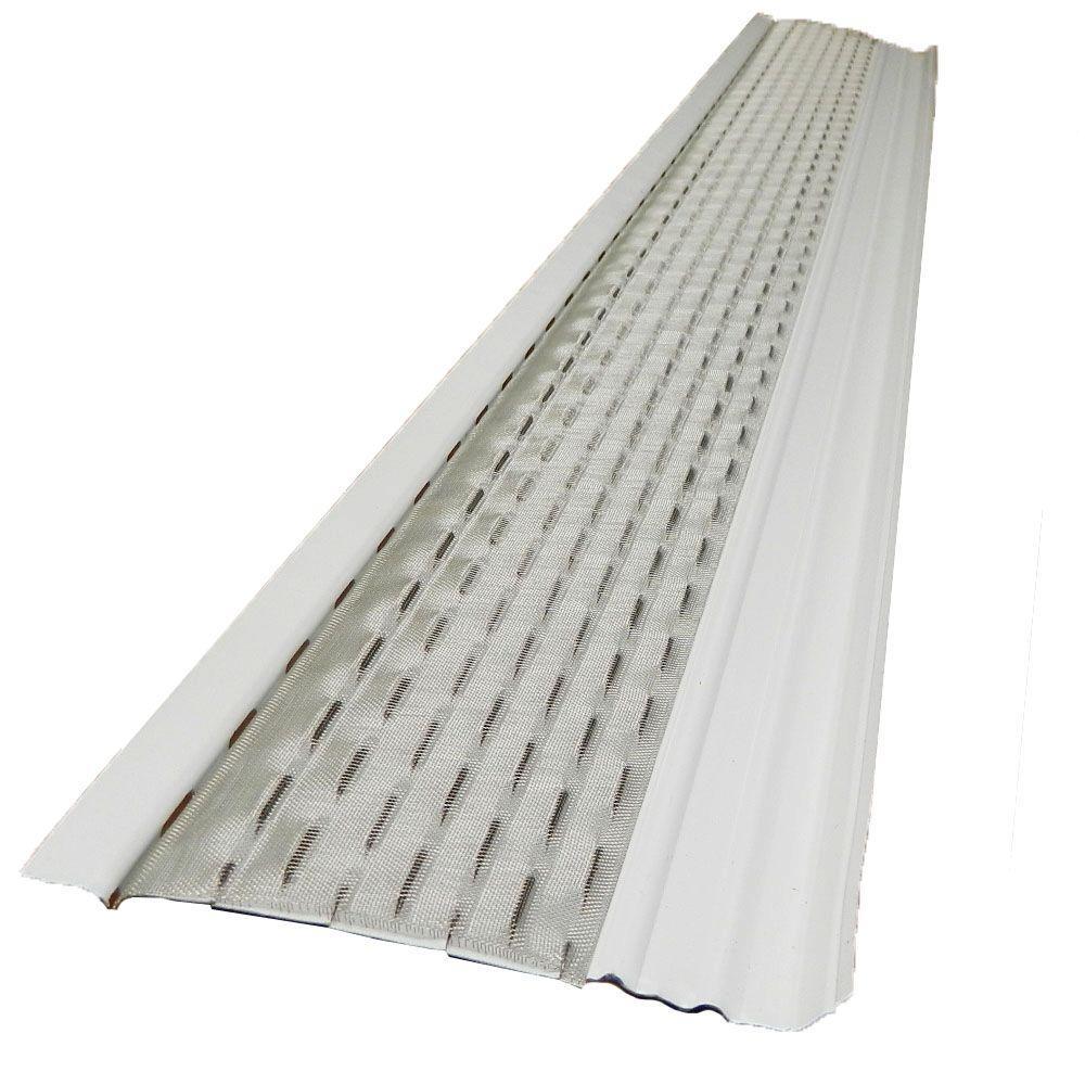 White Aluminum Gutter Cleaner