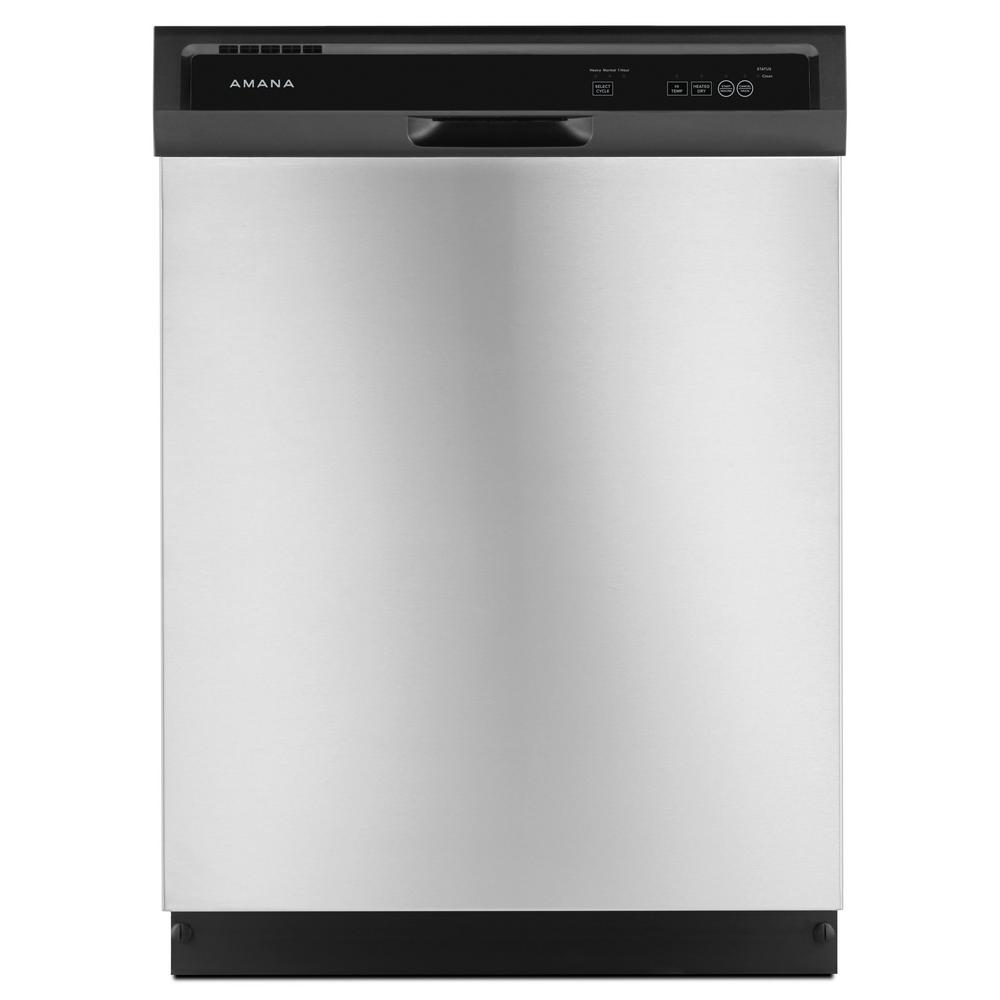 Amana Front Control Built In Tall Tub Dishwasher In Stainless